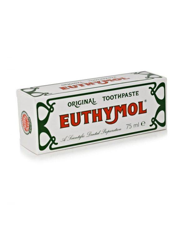 EUTHYMOL <br> DENTIFRICIO <br> ORIGINAL TOOTHPASTE