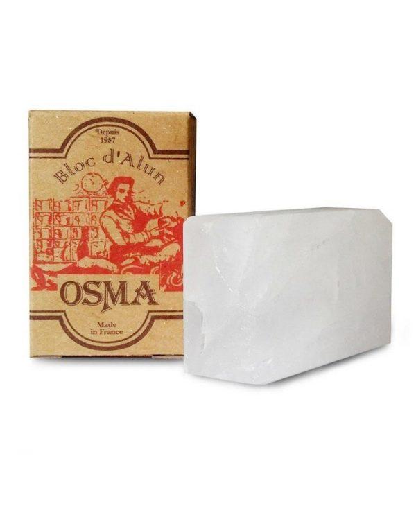 OSMA BLOC D'ALUM – PIETRA IN ALLUME DI POTASSIO 75 GR