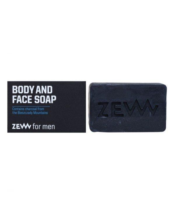 ZEW BODY AND FACE SOAP – SAPONE SOLIDO NATURALE VISO E CORPO - 85 ml