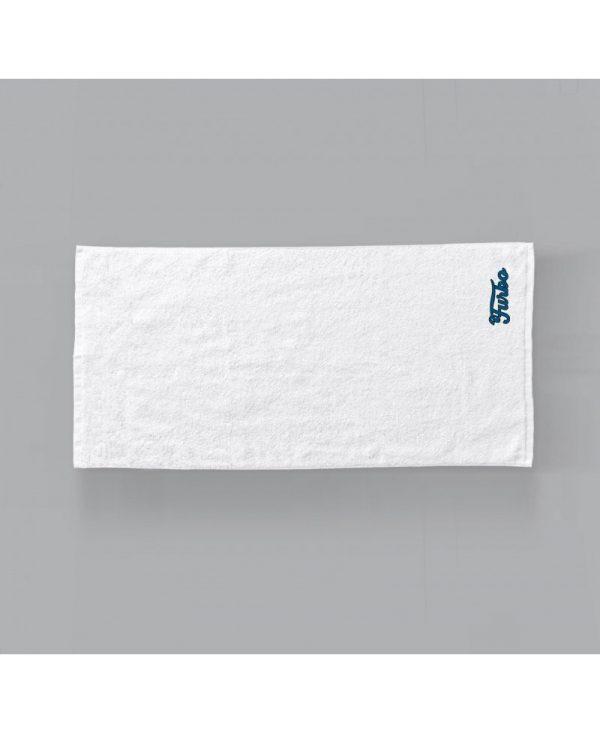 "asciugamano bianco ""Furbo"" Blu"