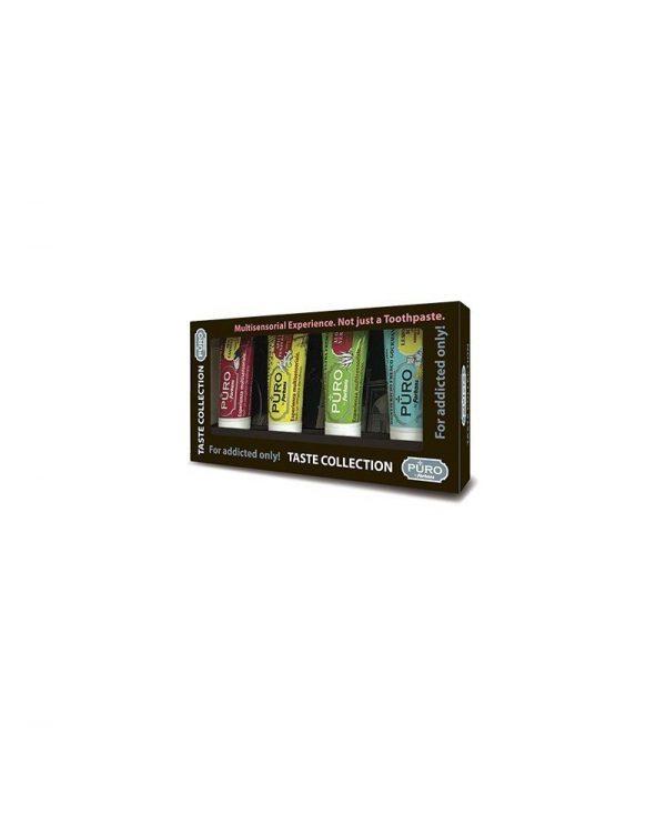 Puro Taste Collection - 4 dentifrici 12ml