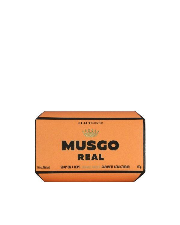 MUSGO REAL <br> ORANGE AMBER <br> DETERGENTE CON CORDA