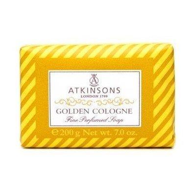 ATKINSONS <br> FINE PERFUMED SOAPS <br> GOLDEN COLOGNE