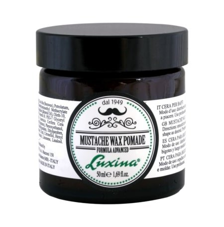 LUXINA <br> MUSTACHE <br> WAX POMADE