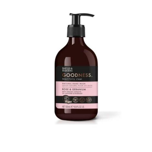 BAYLIS & HARDING GOODNESS ROSE AND GERANIUM HAND WASH