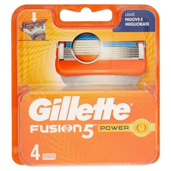 GILLETTE FUSION 5 RICAMBI