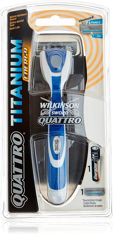 WILKINSON RASOIO QUATTRO TITANIUM ENERGY
